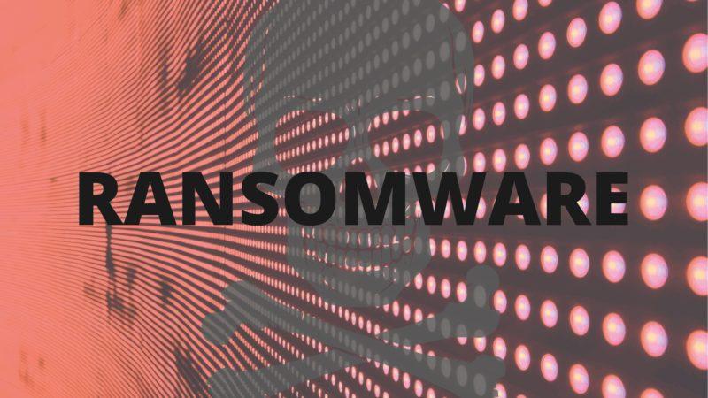Ransomware Calavera Hacker Hacking