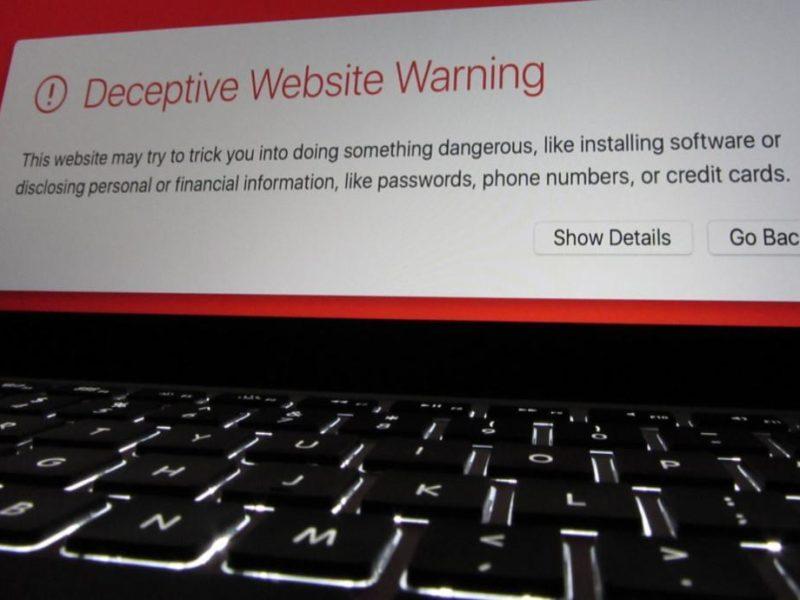 Phishing bancario web fraudulenta